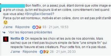 Les fans français de Sense8 ne lâchent pas l'affaire