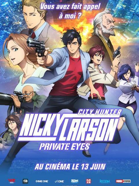 Nicky Larson Shinjuku private eyes