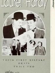 Laurel et Hardy bonnes d'enfants